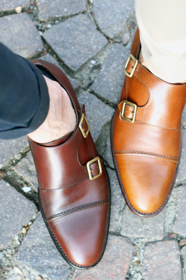 Monkstrap: una scarpa con il sex appeal