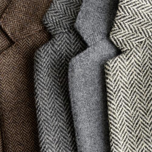 Come riconoscere il tessuto tweed nelle giacche e cappotti